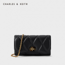 CHARLES & KEITH CK6-10770478 女士菱格单肩包¥131.10 3.6折 比上一次爆料降低 ¥107.9