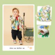 mini balabala 迷你巴拉巴拉 儿童卡通趣斗篷防风外套¥79.90 3.0折