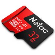 Netac 朗科 P500 至尊Pro 32GB TF(MicroSD)存储卡