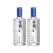 PLUS会员:泸州老窖 泸州白瓶酒 52度 浓香型白酒 500ml*2瓶218元包邮(多重优惠)