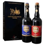 CHIMAY 智美 蓝/红啤酒 精致礼盒装 750ml*2瓶¥63.50 6.0折 比上一次爆料降低 ¥102.1