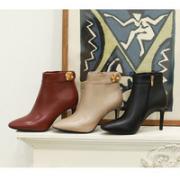 DAPHNE 达芙妮 女士高跟短靴 1019605459