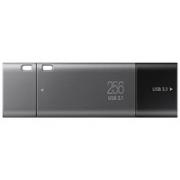 SAMSUNG 三星 DUO Plus Type-C U盘 深灰 256GB USB-C¥319.00 8.2折 比上一次爆料降低 ¥30