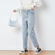 TONLION 唐狮 女士高腰牛仔裤¥74.50 1.9折