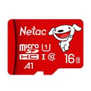 Netac 朗科 P500 某东联名版 Micro-SD存储卡 16GB(UHS-I、U1、A1)¥9.80 5.2折 比上一次爆料降低 ¥0.7