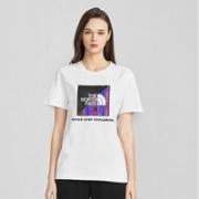 THE NORTH FACE 北面 4NE7 情侣款棉质短袖T恤
