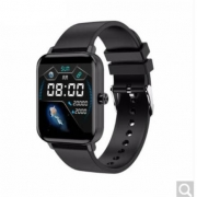 ZTE 中兴 ES43C 智能手表 33mm 黑色 黑色硅胶表带(血氧)129元 包邮(需支付定金10元,31日付尾款)