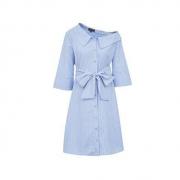 VERO MODA 32027C555S93 女士衬衫式连衣裙