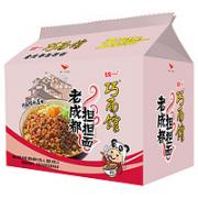 Uni-President 统一 巧面馆 老成都担担面 酱拌面 5连包¥5.88 5.4折 比上一次爆料降低 ¥2.45