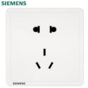 SIEMENS 西门子 致典系列 雅白色正五孔插座¥8.93 8.5折