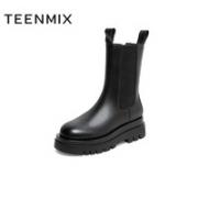 TEENMIX 天美意 YTX01DZ0B 女士短靴