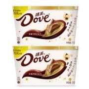 Dove 德芙 丝滑牛奶巧克力  252g*2碗装¥50.92 2.9折 比上一次爆料降低 ¥0.95