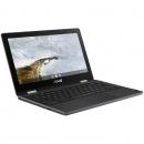 ASUS 华硕 Chromebook Flip C214 2 合 1 笔记本电脑 - 11.6 英寸 360 度触摸屏 Intel Celeron N4000,4GB LPDDR4 内存,32GB 存储,HD 5M 像素摄像头