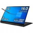 LG gram 2in1 笔记本电脑/1480g/电池续航28.5小时/Core i7/16英寸 2560×1600/内存 16GB/512G SSD/Thunderbolt4/16T90P-KA75J (2021年款)
